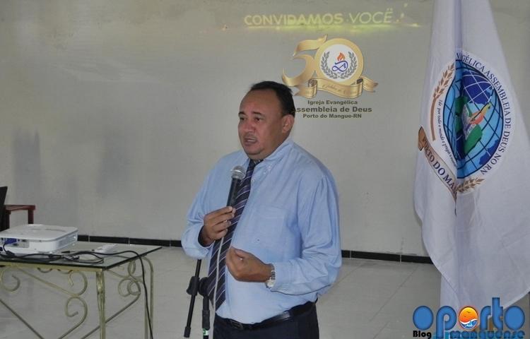 Em reunão, Pr. Idemberg Guimarães convoca  assembleianos a vestir a camisa do cinquentenário