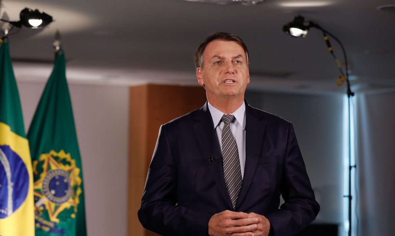 (Brasília - DF, 06/03/2020) Pronunciamento do Presidente da República, Jair Bolsonaro. Foto: Carolina Antunes/PR