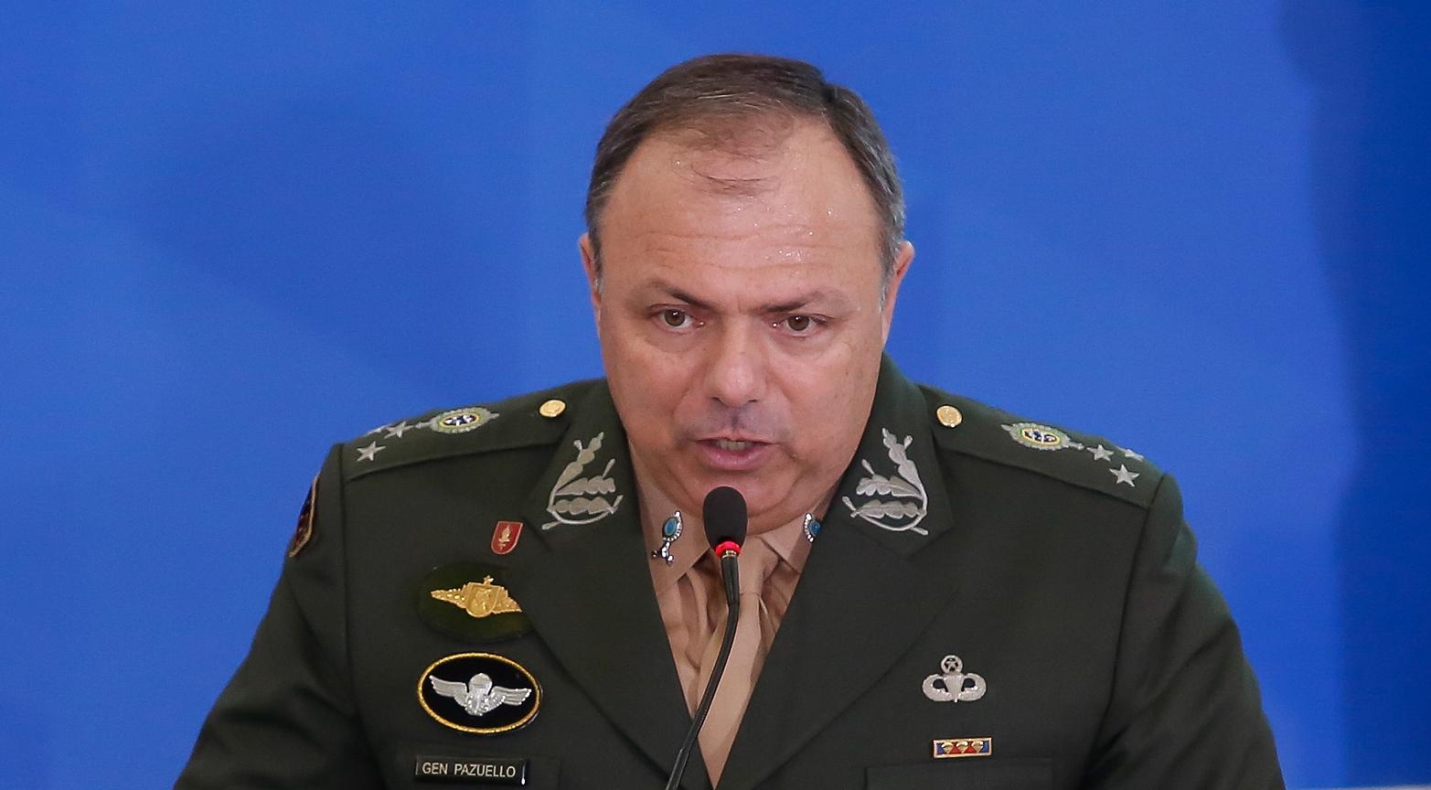 (Brasília - DF, 16/01/2020) Palavras do General de Divisão, Eduardo Pazuello. Foto: Anderson Riedel/PR